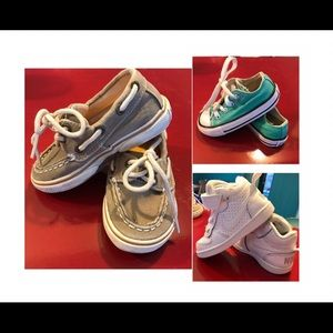 Infant Hayland Sperrys - Nike Air 1  - Converse